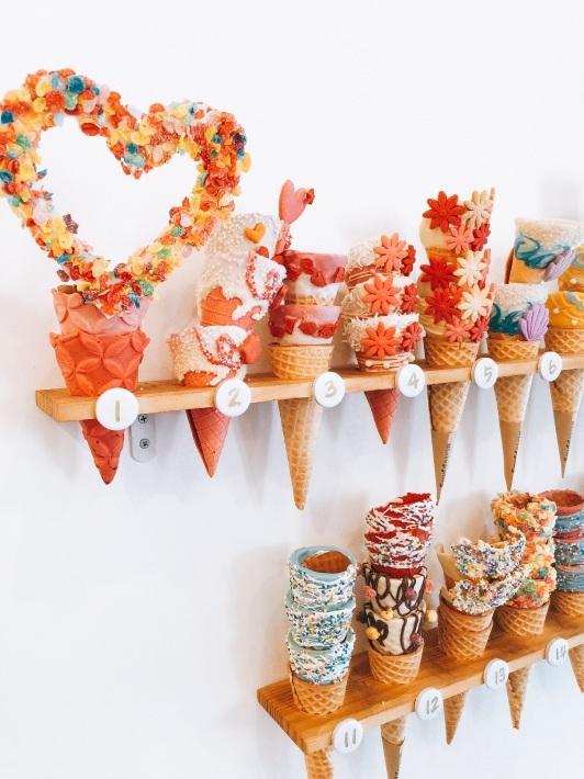 ソウルで可愛いソフトクリームを食べる『ビストッピング』_b0060363_00124217.jpg