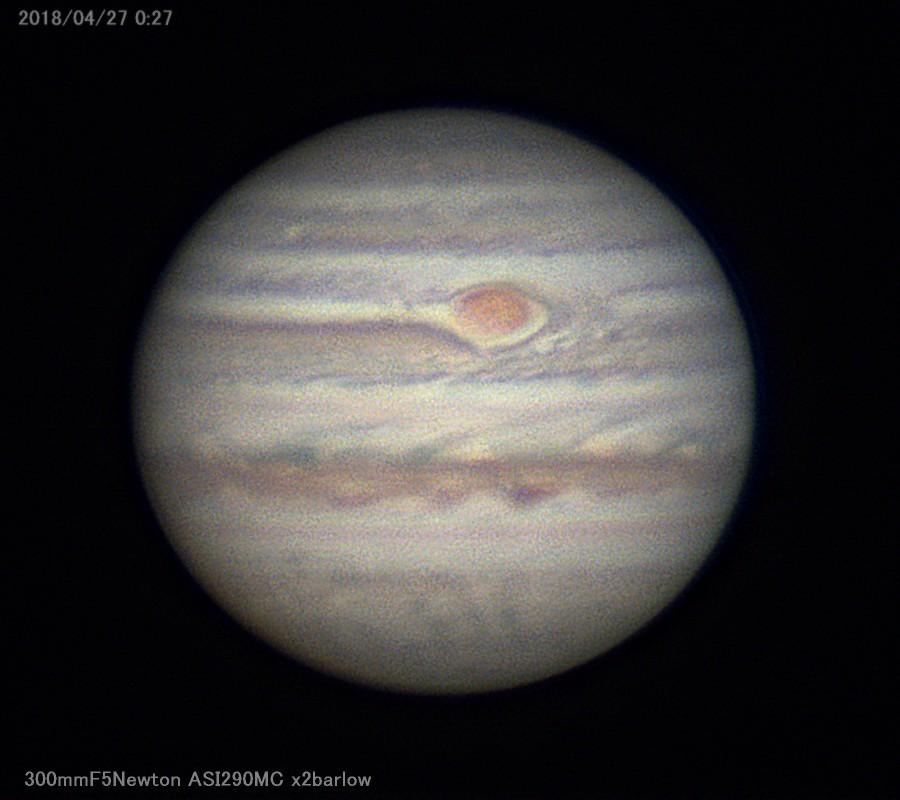 筒だけオライオン鏡筒で木星を撮る_a0095470_23275588.jpg