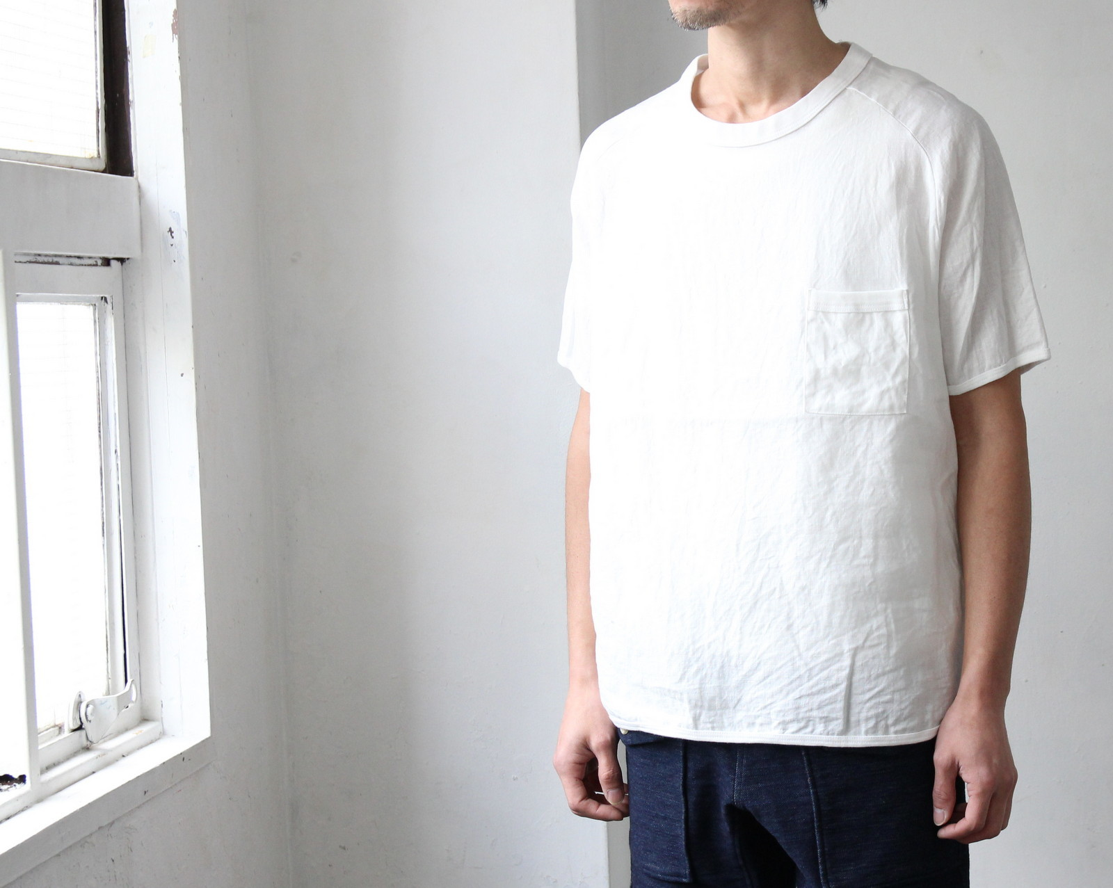French Linen T-shirt_c0379477_21212283.jpg