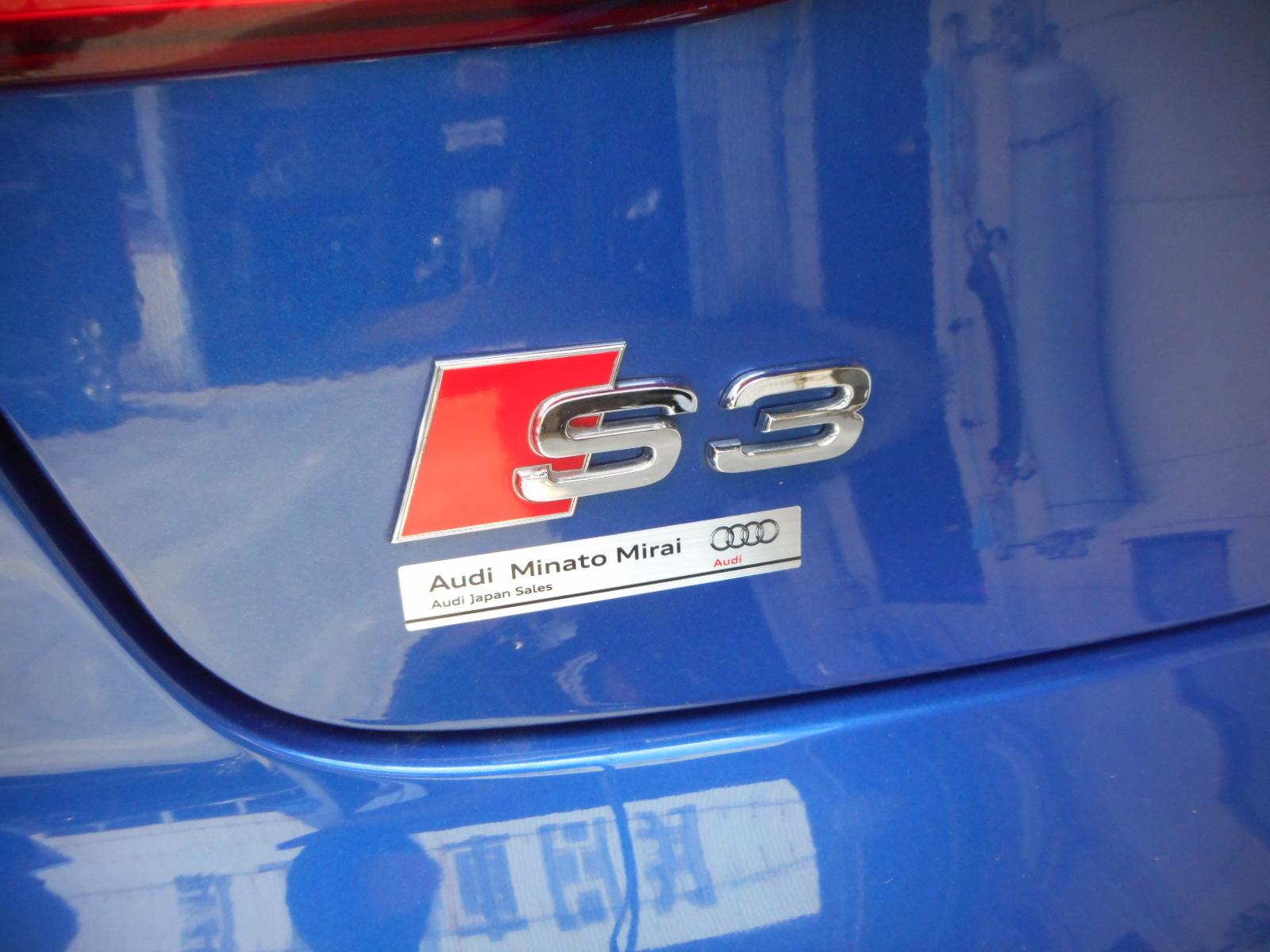 アウディ S3 納車車検整備_c0267693_17065773.jpg