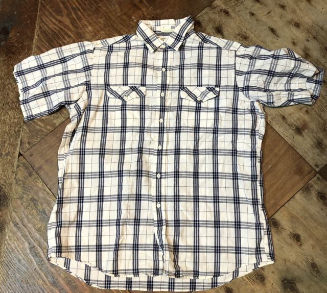 4月29日(日)入荷!80s all cotton Made In U.S.A  L.L Bean シャツ!_c0144020_19324620.jpg