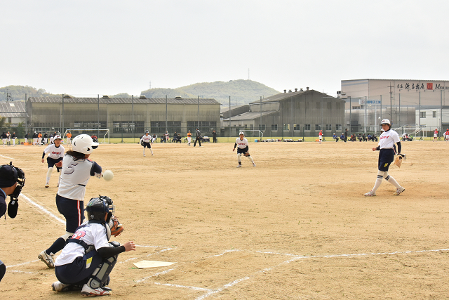 岡山竜操中春季教育リーグ 竜操VS明和_b0249247_18505969.jpg