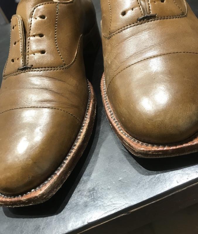 休日に靴磨き_f0374162_13171828.jpeg