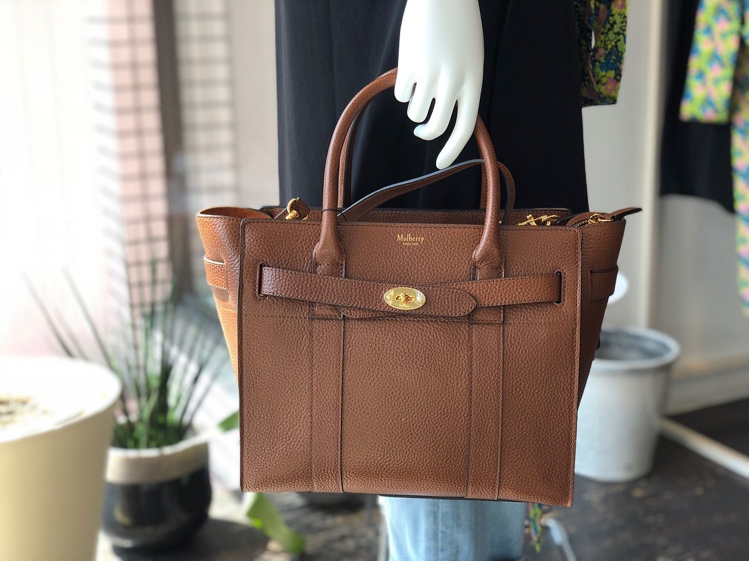 NEW ARRIVAL! MULBERRY MINI ZIPPED BAYSWATER_f0111683_12102422.jpg