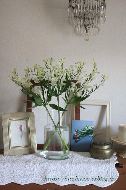 初夏の花を使ったアレンジメントと初夏のインテリア_f0374092_17263142.jpg