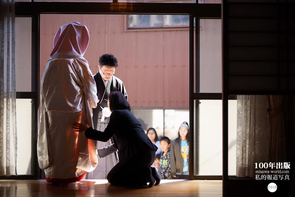 2018/3/16 自宅で花嫁さんになる_a0120304_18003960.jpg
