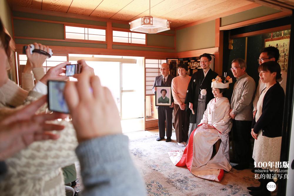 2018/3/16 自宅で花嫁さんになる_a0120304_18004065.jpg