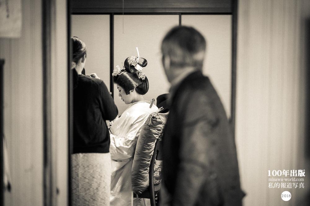 2018/3/16 自宅で花嫁さんになる_a0120304_18004116.jpg
