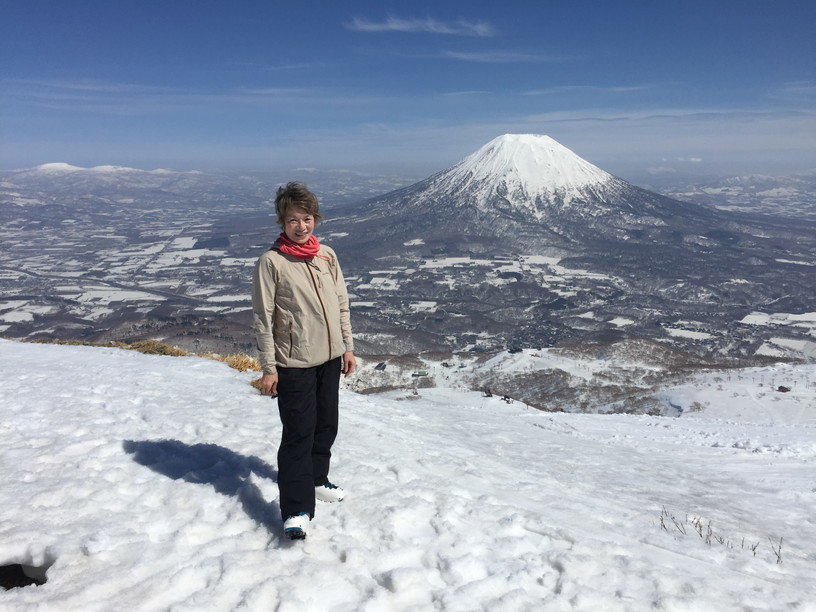 "2018年4月 『ニセコ、羊蹄山で春スキー』 April 2018 ""Spring Ski in Niseko and Mt Yotei\""_c0219616_12481494.jpg"