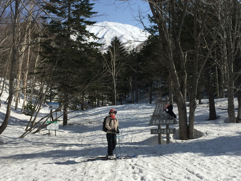 "2018年4月 『ニセコ、羊蹄山で春スキー』 April 2018 ""Spring Ski in Niseko and Mt Yotei\""_c0219616_12493140.jpg"