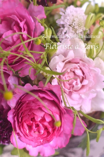 Fleuriste à Parisパリお花屋さんレッスン_d0078355_12175199.jpg