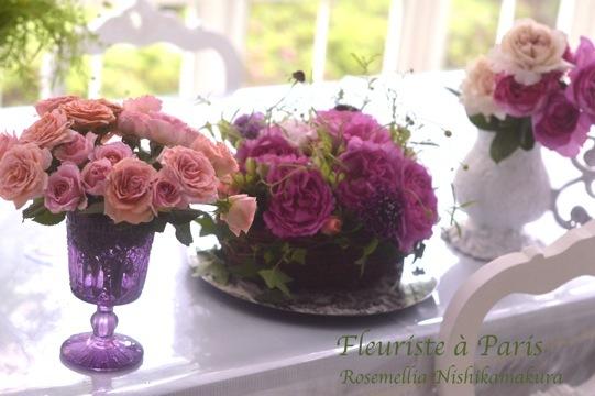 Fleuriste à Parisパリお花屋さんレッスン_d0078355_12183409.jpg