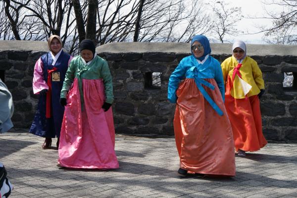 Nソウルタワー/南山タワー 韓国銀行貨幣博物館 2018年3月 済州・ソウルの旅(10)_f0117059_20481112.jpg