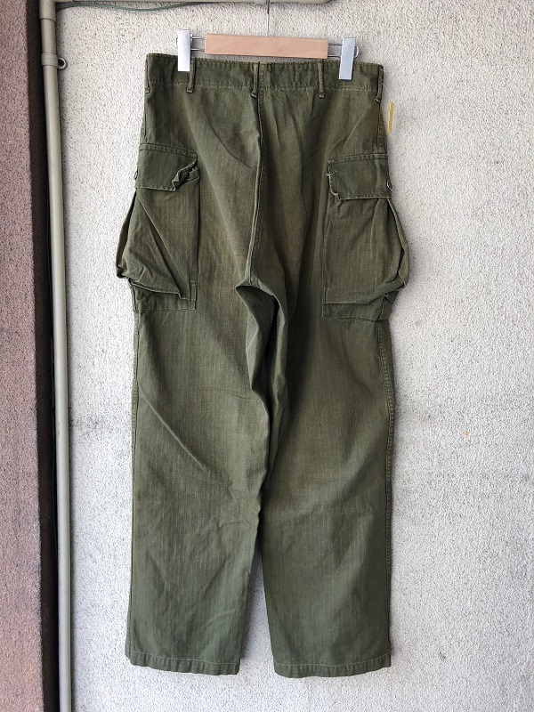 M-43 HBT Side Cargo Pants_c0146178_18260190.jpg