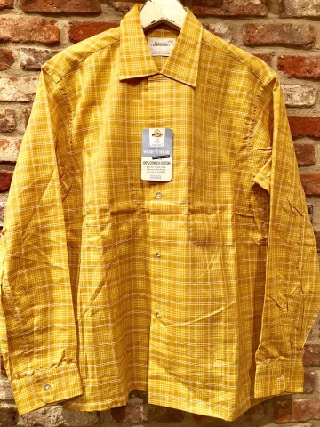 "1960s "" PENNEY\'S -TOWN CRAFT- \"" 100% combed cotton VINTAGE BOX-TAIL CH SHIRTS \"" N.O.S \"" ._d0172088_20282886.jpg"