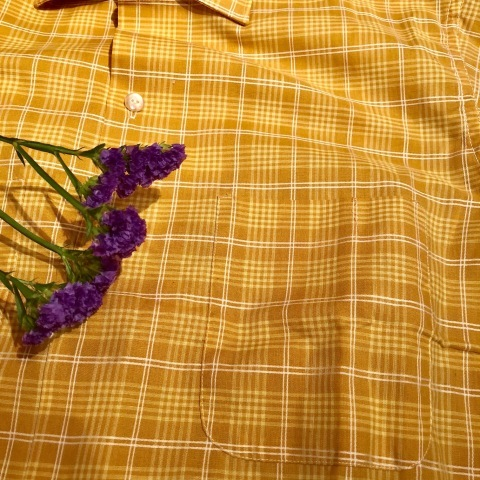 "1960s "" PENNEY\'S -TOWN CRAFT- \"" 100% combed cotton VINTAGE BOX-TAIL CH SHIRTS \"" N.O.S \"" ._d0172088_21420500.jpg"