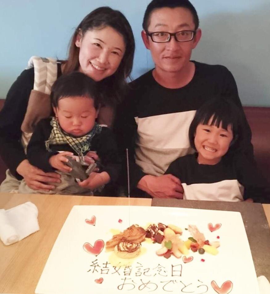 結婚記念日& ama BABYこーとくん!_e0120789_18123015.jpg