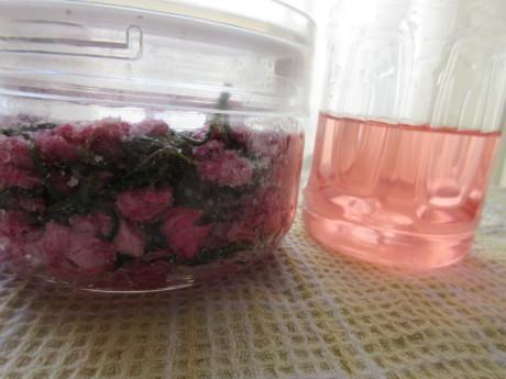 桜を漬ける、高菜を漬ける_a0203003_13084524.jpg