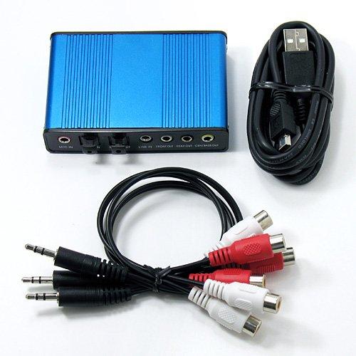 ルートアール USB オーディオアダプタ RA-AUD51接続成功_b0109511_5453666.jpg