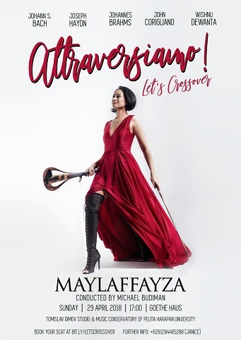 """インドネシアのバイオリニスト・Maylaffayza Liberattiさんのコンサート:Attraversiamo! Let\'s Crossover\""""_a0054926_22044212.jpg"""