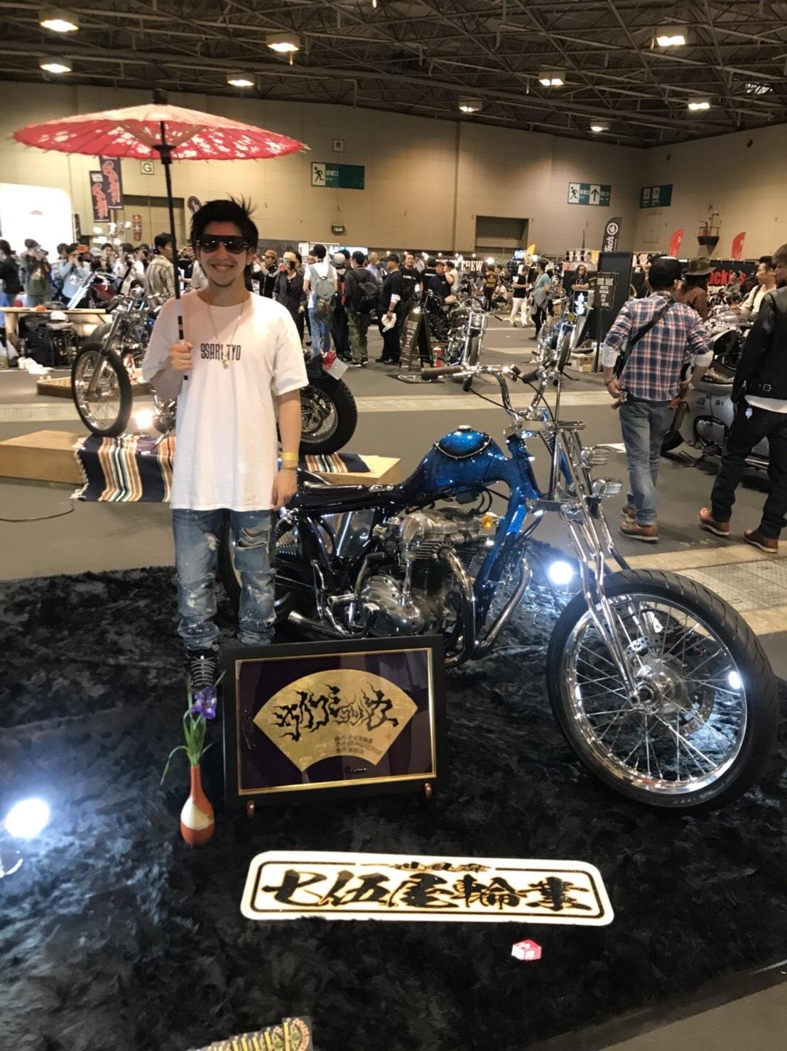 JOINTS2018/七伍屋輪業/W650custom_e0365651_11323864.jpg