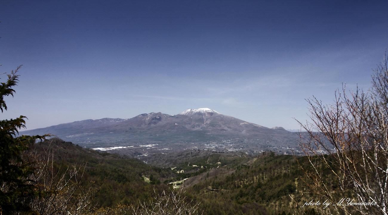 浅間山とキビタキ_c0217255_15113402.jpg