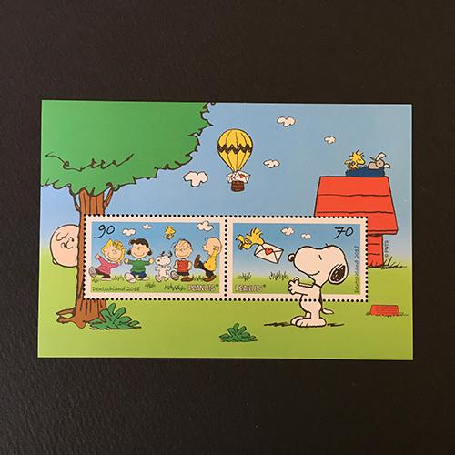 ★ ドイツ・スヌーピーの切手が入荷しました ★ _e0086476_10521104.jpg