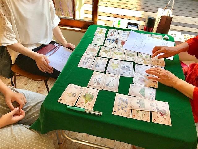 カードを囲んで♡(^-^)♡_c0165589_07285646.jpg