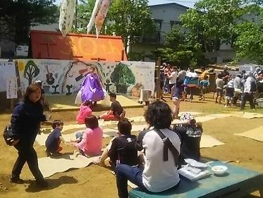 花みず木フェスティバル はらっぱプレーパーク30周年_c0092197_03044915.jpg