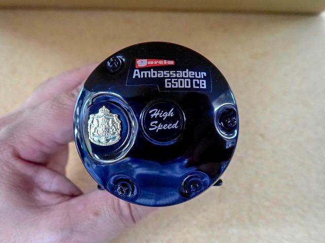 [雷魚]アンバサダー 6500CB FTブラック、6501CB FT ブラック入荷いたしました。_a0153216_18415679.jpg