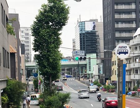 道案内 代々木上原駅から試着サロンまで_d0380315_23035851.jpg
