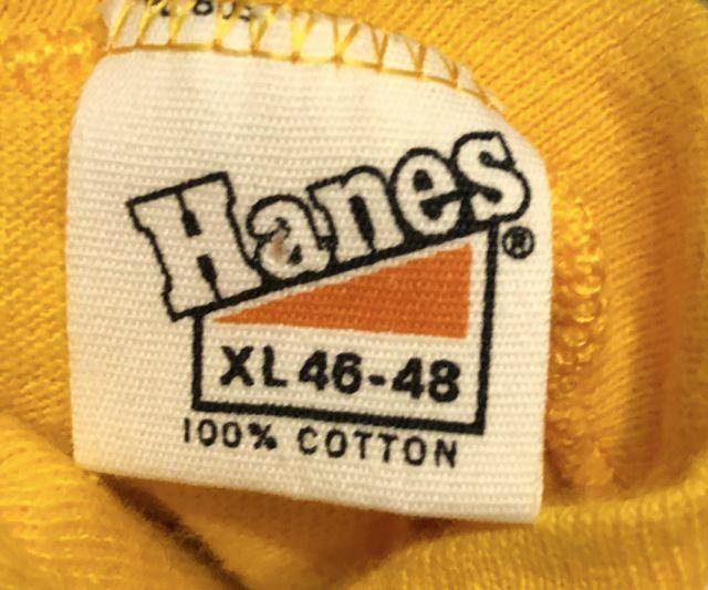 5月3日(木)入荷! all cotton 70s HANES Tシャツ!_c0144020_14124264.jpg