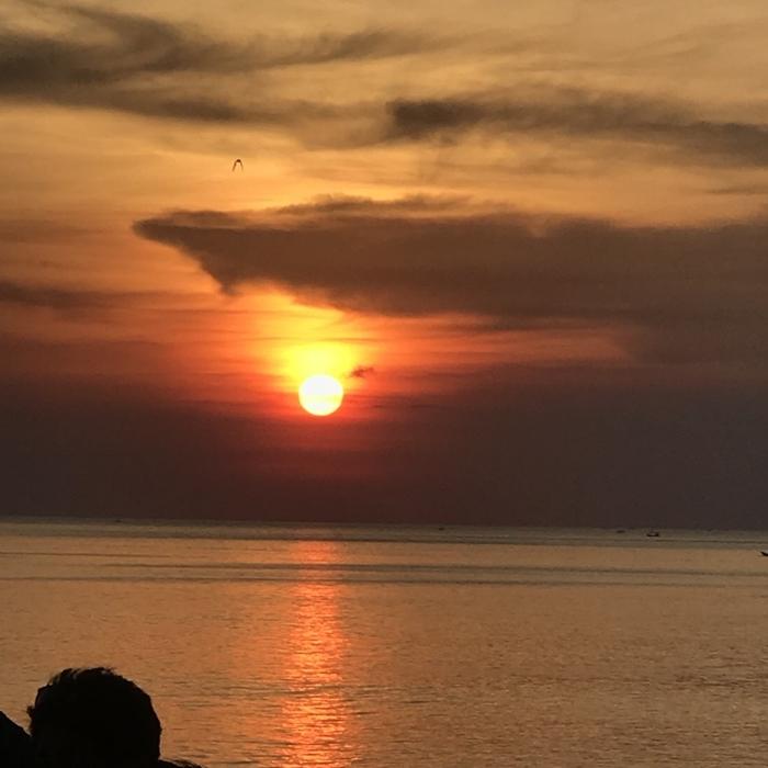バリの夕日_a0199979_19350763.jpg