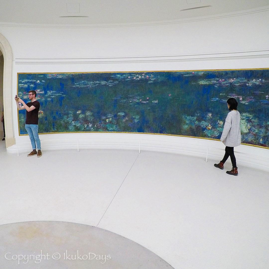 "Paris旅行 モネ晩年の大作""睡蓮""のための美術館:『オランジュリー美術館 』_d0114093_22215912.jpg"