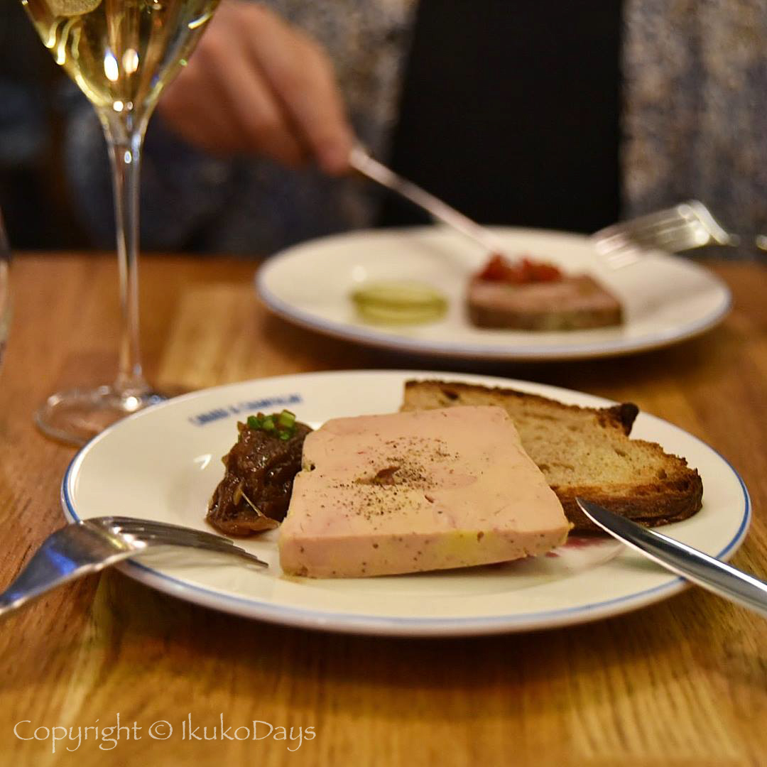 Paris旅行 鴨料理&シャンパンが楽しめるビストロ:『Canard et champagne(カナール・エ・シャンパーニュ) 』_d0114093_22232814.jpg
