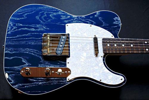 2S仕様の「Moire Phantom BlueのSTD-T」2本が同時完成!_e0053731_16262408.jpg