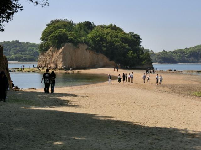 小豆島を歩く ②エンジェルロード_f0189467_01432146.jpg