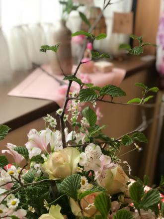 TonTonCafe\'s 花Club 春のレッスンへ_c0237291_12343525.jpeg