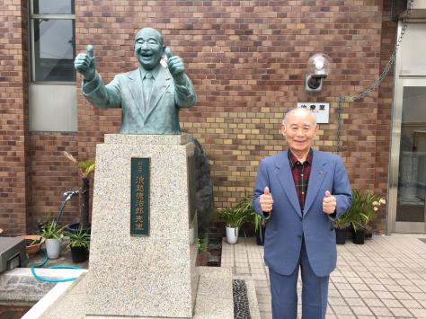 尊敬する名先生、石原博司先生とバッタリ。_a0112393_22034360.jpg