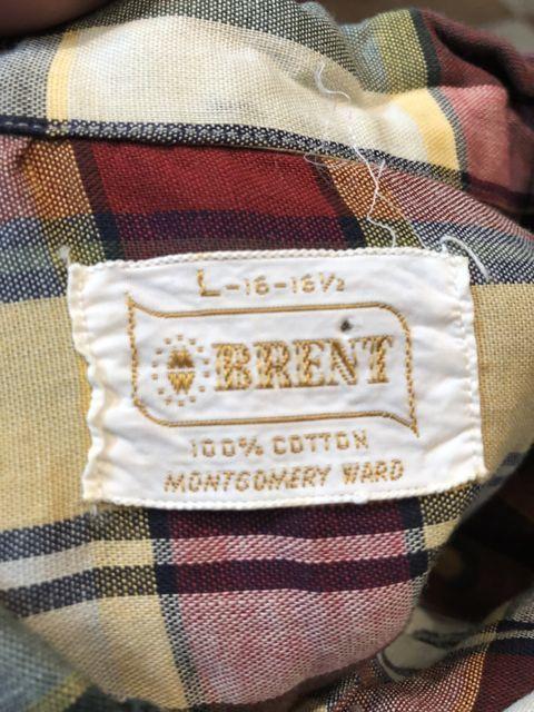 5月5日(土)入荷!60s all cotton BRENT  ボックスシルエット B.D シャツ!_c0144020_14032615.jpg