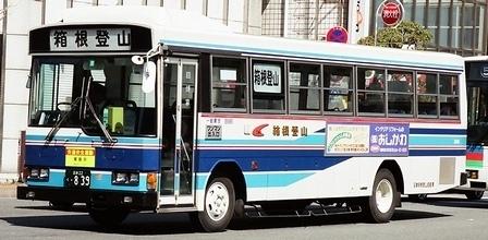 東海自動車と箱根登山の日野P-RJ172BA +日野車体_e0030537_22412060.jpg