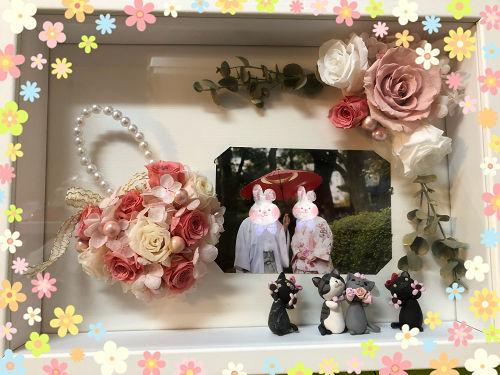 結婚式のウェルカムボード・・・現在。_f0108346_02131599.jpg