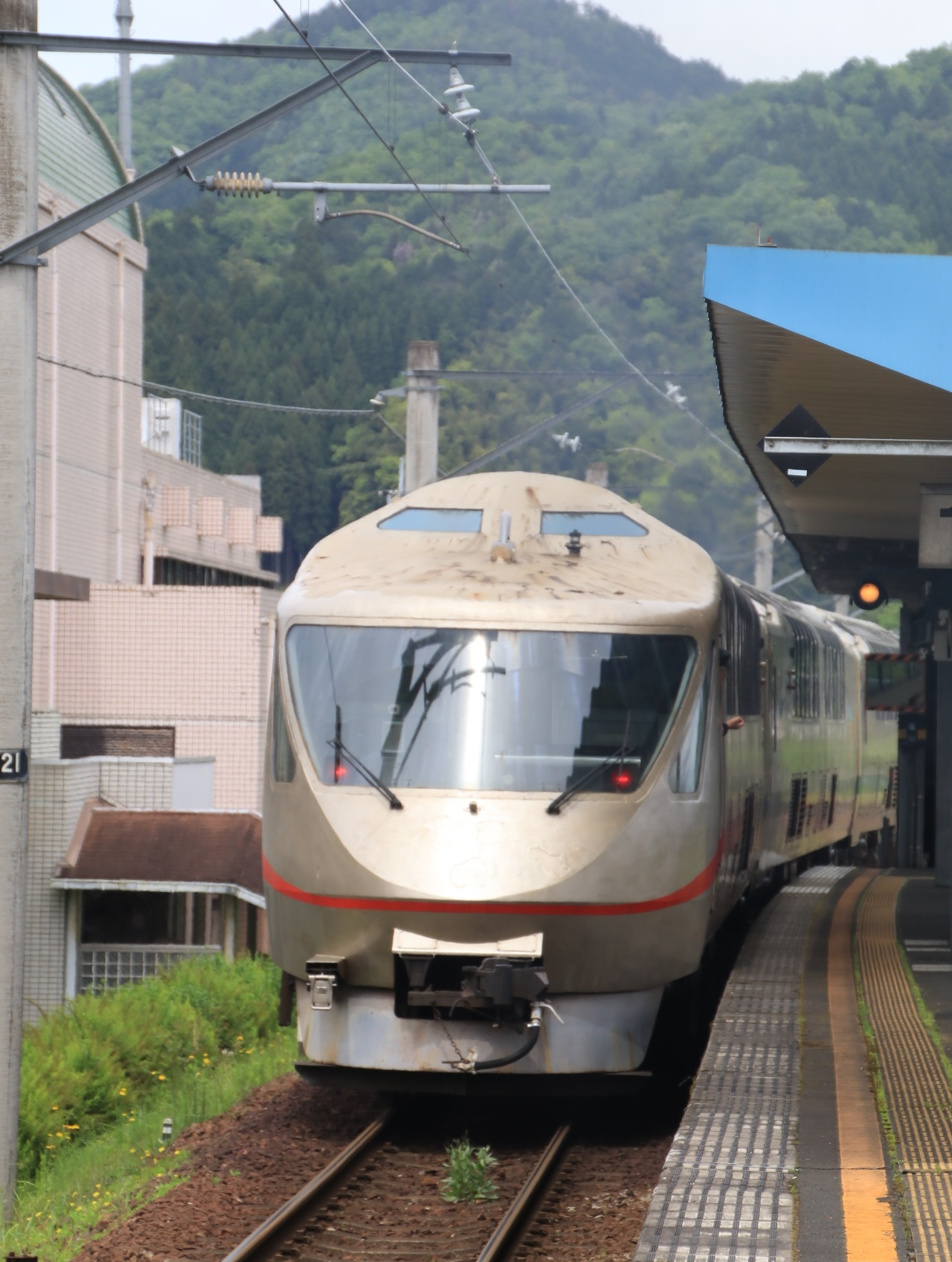 丹鉄 タンゴエクスプローラ 大江駅到着!_d0202264_4395753.jpg