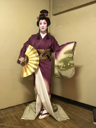 日本民踊舞踊連盟の全国大会での衣装_c0309606_18373626.jpg