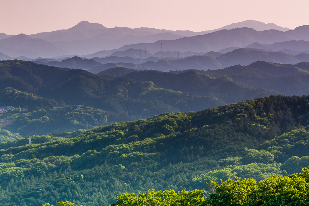 今日の散歩、ちょっと遠回りして日和田山へ_b0010915_20450360.jpg
