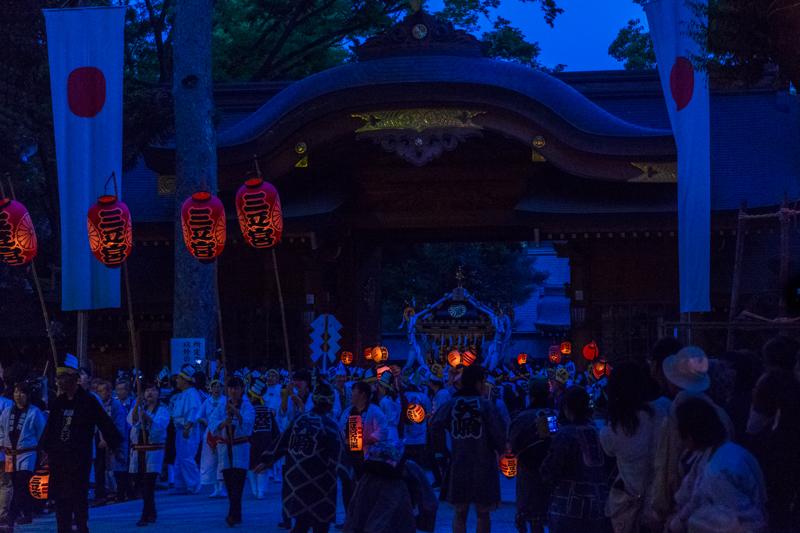 くらやみ祭 神輿渡御_a0261169_20123348.jpg