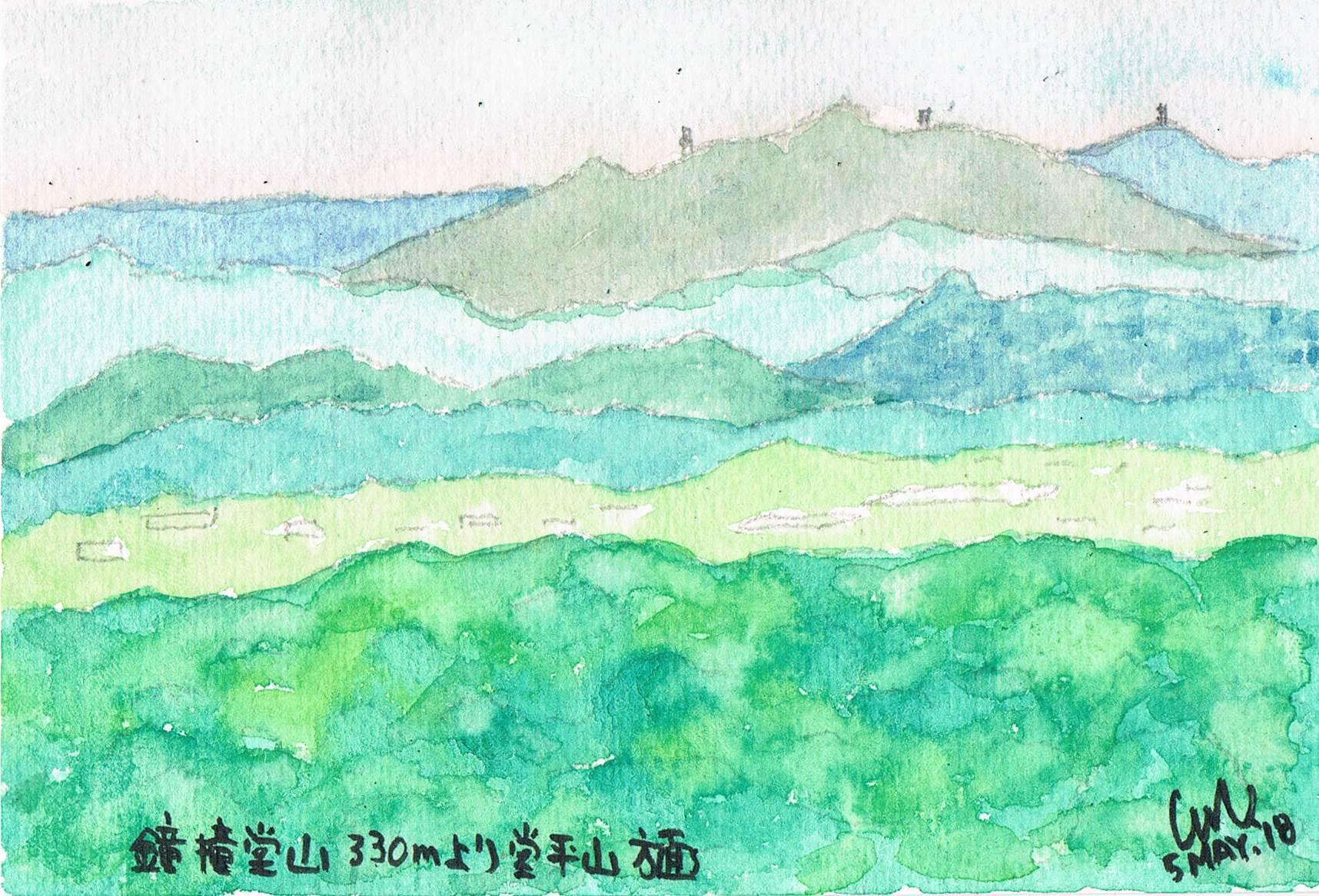 鐘撞堂山山頂からの眺望_e0232277_11171660.jpg