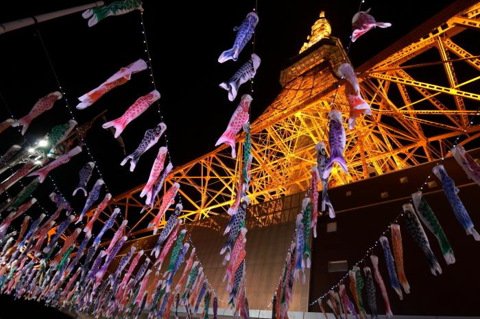 【東京タワーの鯉のぼり】_f0348831_00372049.jpg