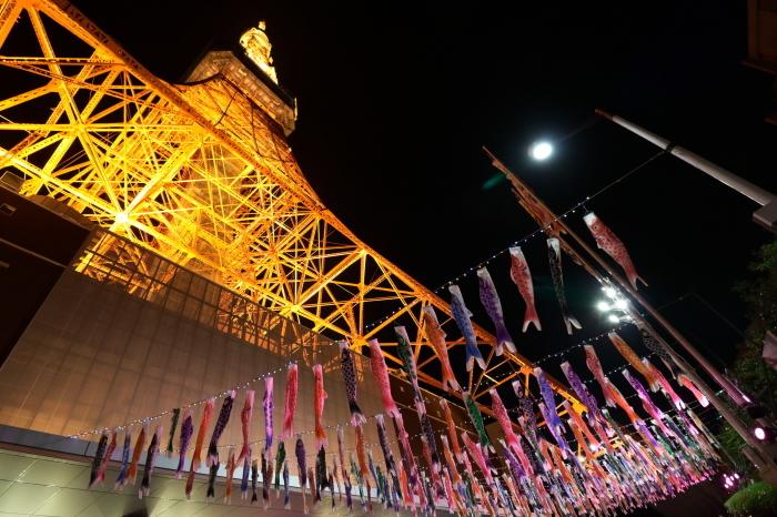 【東京タワーの鯉のぼり】_f0348831_00373815.jpg