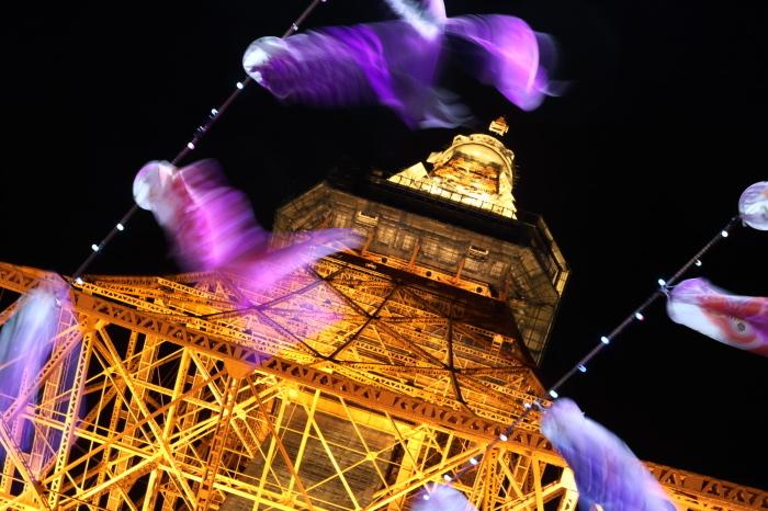 【東京タワーの鯉のぼり】_f0348831_00374195.jpg